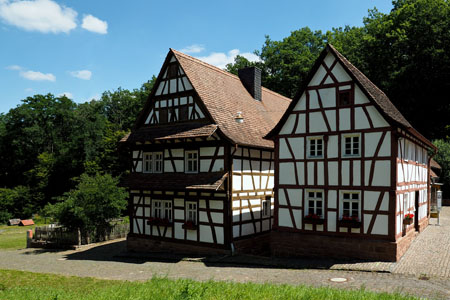 Open-air museum: shows the region's traditional house forms (Nahe Valley)