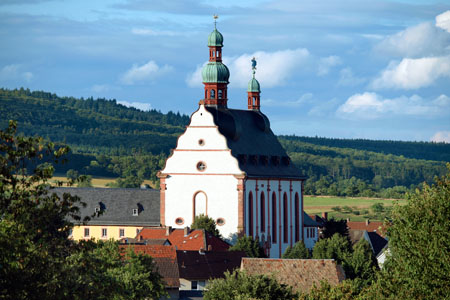 Pilgrimage church «Our Mother on the Soon Forest» in Spabrücken (Nahe Valley)