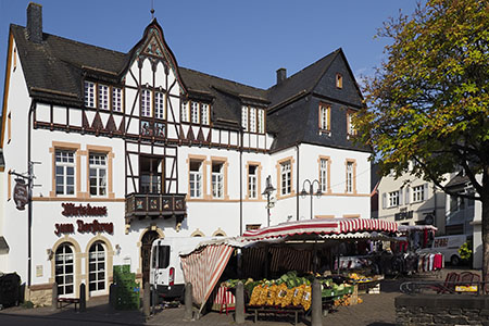 Morbach with a particularly healthy climate and ancient village Belginum («Idarwald» Forest)