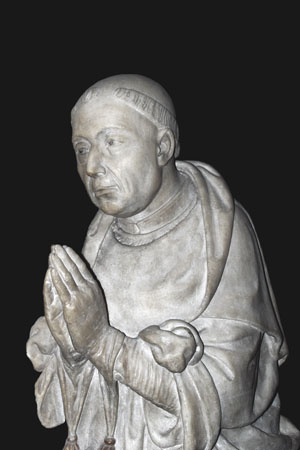 Cusanus sculpture of S. Pietro in Vincoli at the bottom of Monte Esquilino in Rome (Mosel Valley)